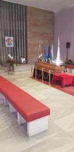 зала погребение